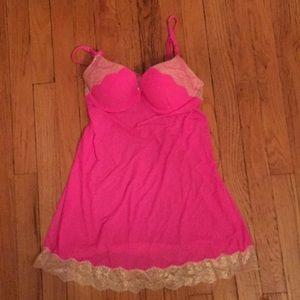 Victoria secret lingerie in beautiful pink